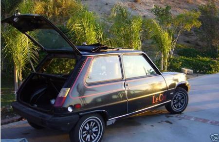 1978 Renault LeCar rear