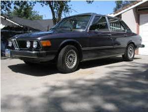 1979 BMW 528i front