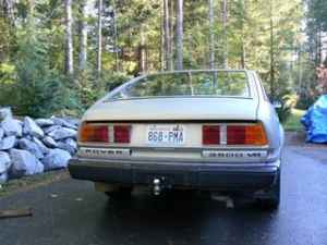 1980 Rover SD1 3500 V8 rear