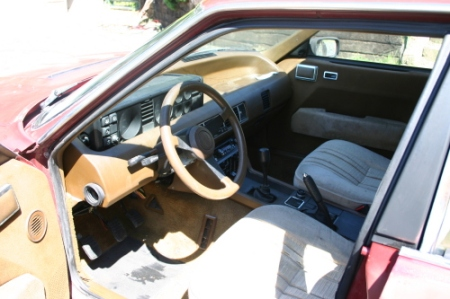 1980 Rover SD1 3500S interior