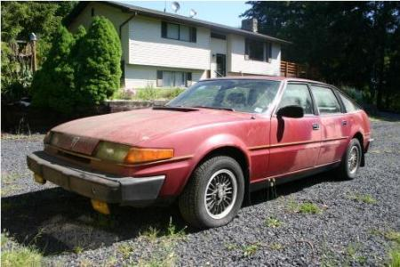 1980 Rover SD1 3500S left
