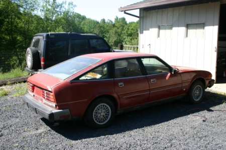 1980 Rover SD1 3500S right