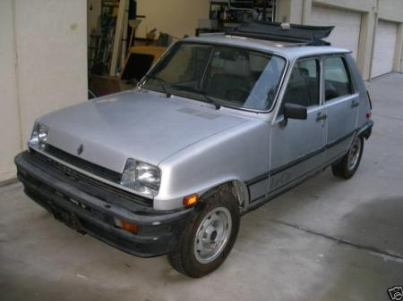 1982 Renault LeCar front