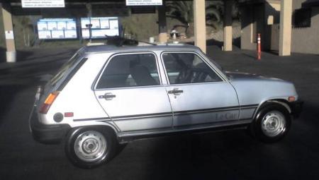 1982 Renault LeCar rear