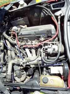 1988 Saab 900 SPG engine