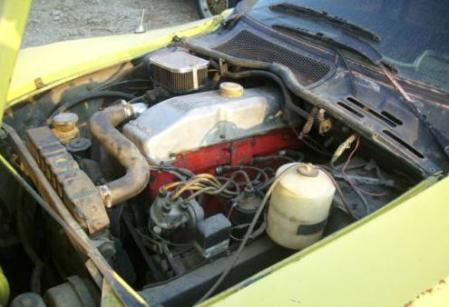 1970 Opel GT engine