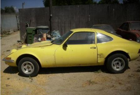 1970 Opel GT left