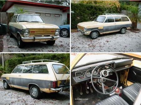 1970 Opel Kadett Kombi