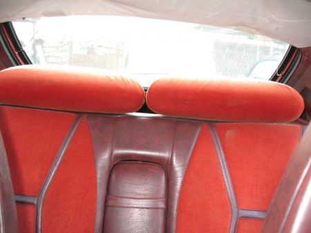 1978 Saab 99 turbo back seat