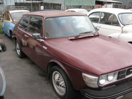 1978 Saab 99 turbo right
