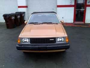 1982 Mazda 626 convertible front