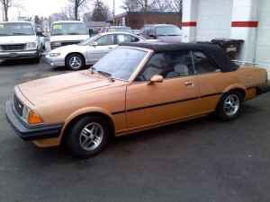 1982 Mazda 626 convertible side