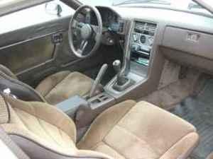 1984 Mazda RX7 interior