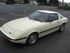 1984 Mazda RX7 left front