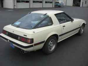 1984 Mazda RX7 right rear