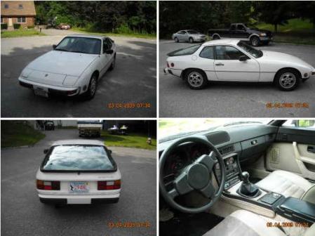 1987 Porsche 924 white