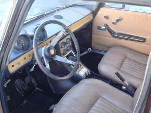 1969 Alfa Romeo Berlina interior