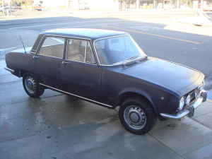 1969 Alfa Romeo Berlina right