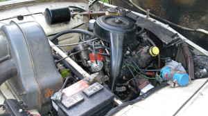 1970 Saab 95 engine