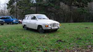 1970 Saab 95 front