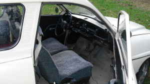 1970 Saab 95 interior