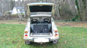 1970 Saab 95 rear