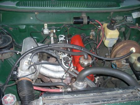 1972 Volvo 145 engine