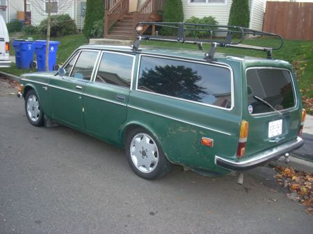 1972 Volvo 145 rear