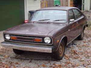 1975 Austin Marina front