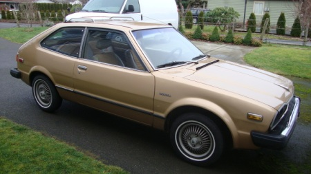 1977 Honda Accord front