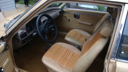 1977 Honda Accord interior