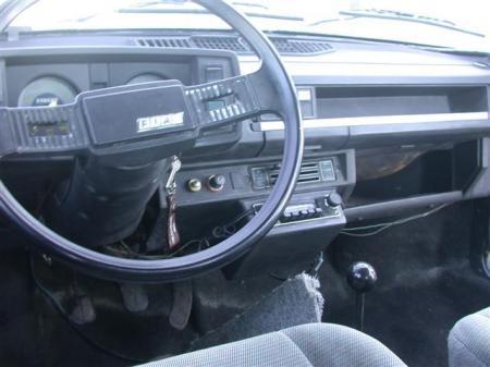 1978 Fiat 128 interior