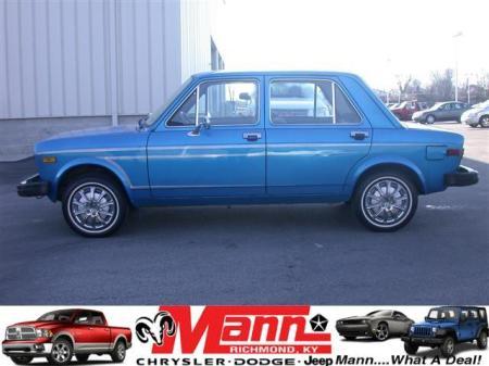 Still Alive Fiat 128 Sedan Double Happiness Rusty But