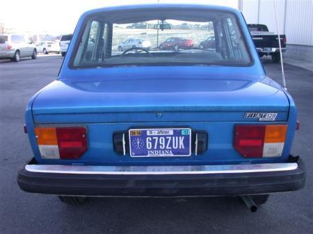 1978 Fiat 128 rear