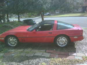 1985 Chevrolet Corvette left