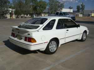 1987 Merkur XR4Ti rear