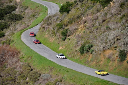 Bernal GT 100 Alfa Romeo Alfetta GT, Volvo 1800 ES, BMW 2002, Porsche 914