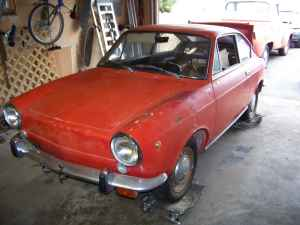 1966 Fiat 850 coupe left