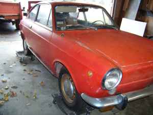 1966 Fiat 850 coupe right