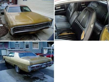 1971 Plymouth Sport Fury 2-door