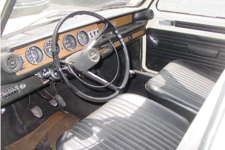 1971 Simca 1100 interior