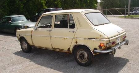 1971 Simca 1100 left rear