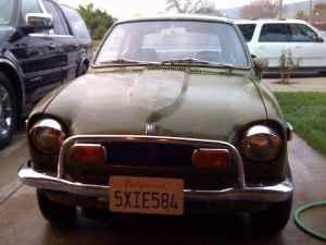 1972 Honda AZ600 front