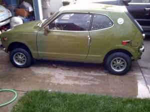 1972 Honda AZ600 left