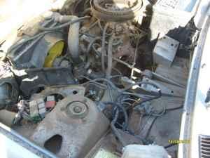 1976 Fiat 128 engine