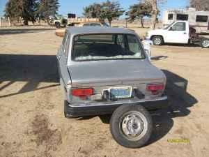 1976 Fiat 128 rear