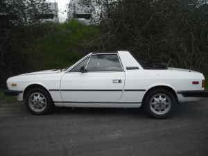 1981 Lancia Beta Zagato left