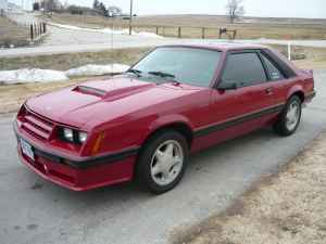 1982 Ford Mustang GT left