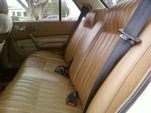 1982 Peugeot 604 TD rear seat