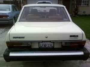 1982 Peugeot TD 604 rear